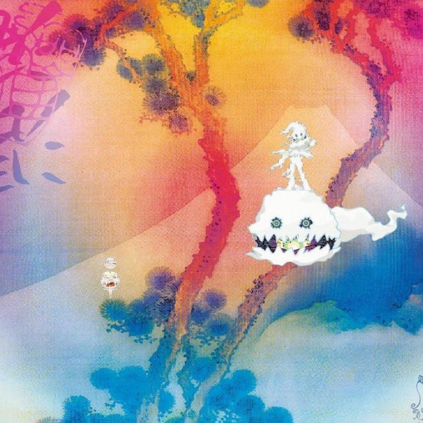 Kanye West unveils Takashi Murakami-designed album art