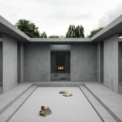 Low-income housing by Yeezy Home