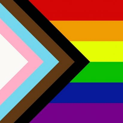 Daniel Quasar redesigns LGBT Pride flag