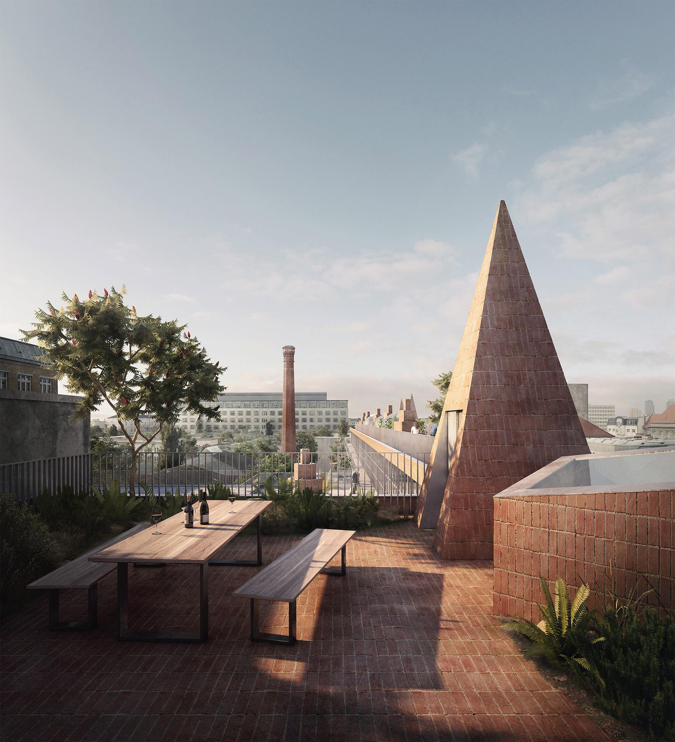 Berlin housing scheme by David Kohn Architects and Nord Studio