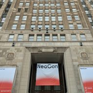 Woman dies in swing accident at NeoCon furniture fair
