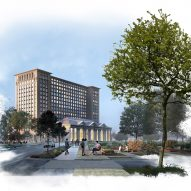 Snøhetta to renovate historic Detroit station for Ford innovation centre