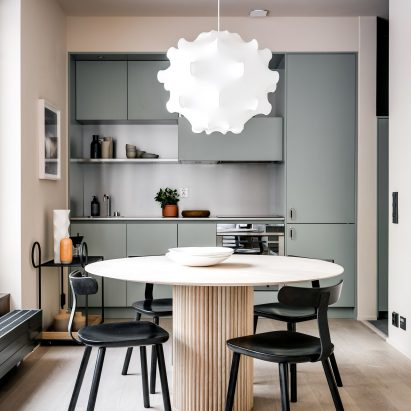Note Design Studio\u0027s small city apartments are designed for socialising & Small apartment design and interiors | Dezeen