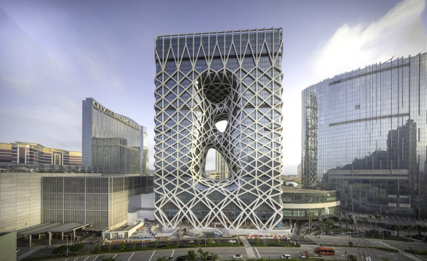 Zaha Hadid Architects unveils Morpheus hotel in Macau