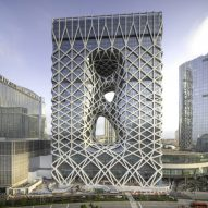 Latest Dezeen Weekly features ZHA's hotel in Macau and our exclusive interview with Björk
