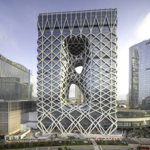 Morpheus Hotel by Zaha Hadid Architects
