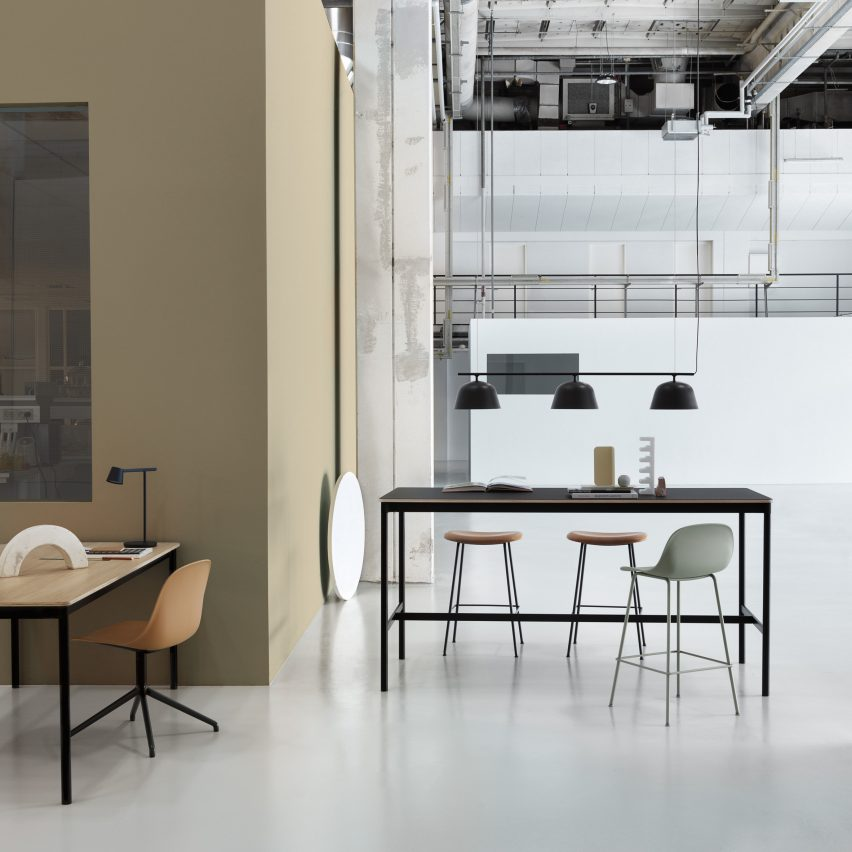 Base High Table, by Mika Tolvanen for Muuto