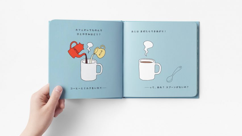 Nendo designs children's book to illustrate how creative ideas are born