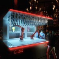 "Nino robotic bartender can make ""any drink in seconds"""