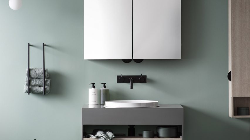 note design studio create compact bathroom furniture for lagom rh dezeen com