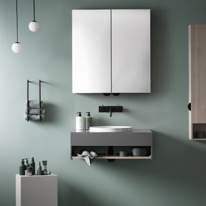 Note Design Studio create compact bathroom furniture for Lagom