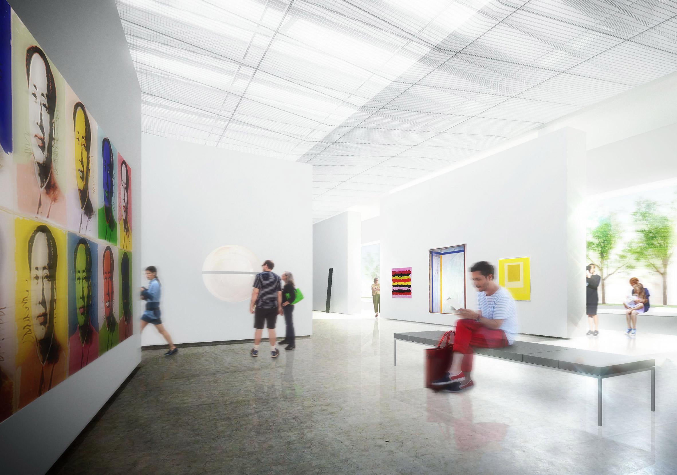 Orange County Museum of Art by Morphosis