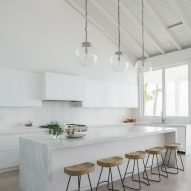 "Touzet Studio offers ""modern take on island architecture"" at Bahamas holiday home"