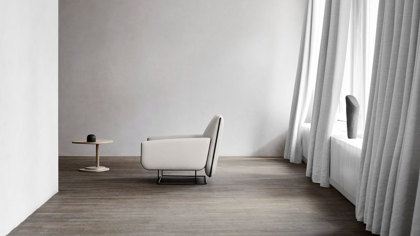 Erik Jørgensen's Ovo easy chair recalls folded sheets of fresh pasta