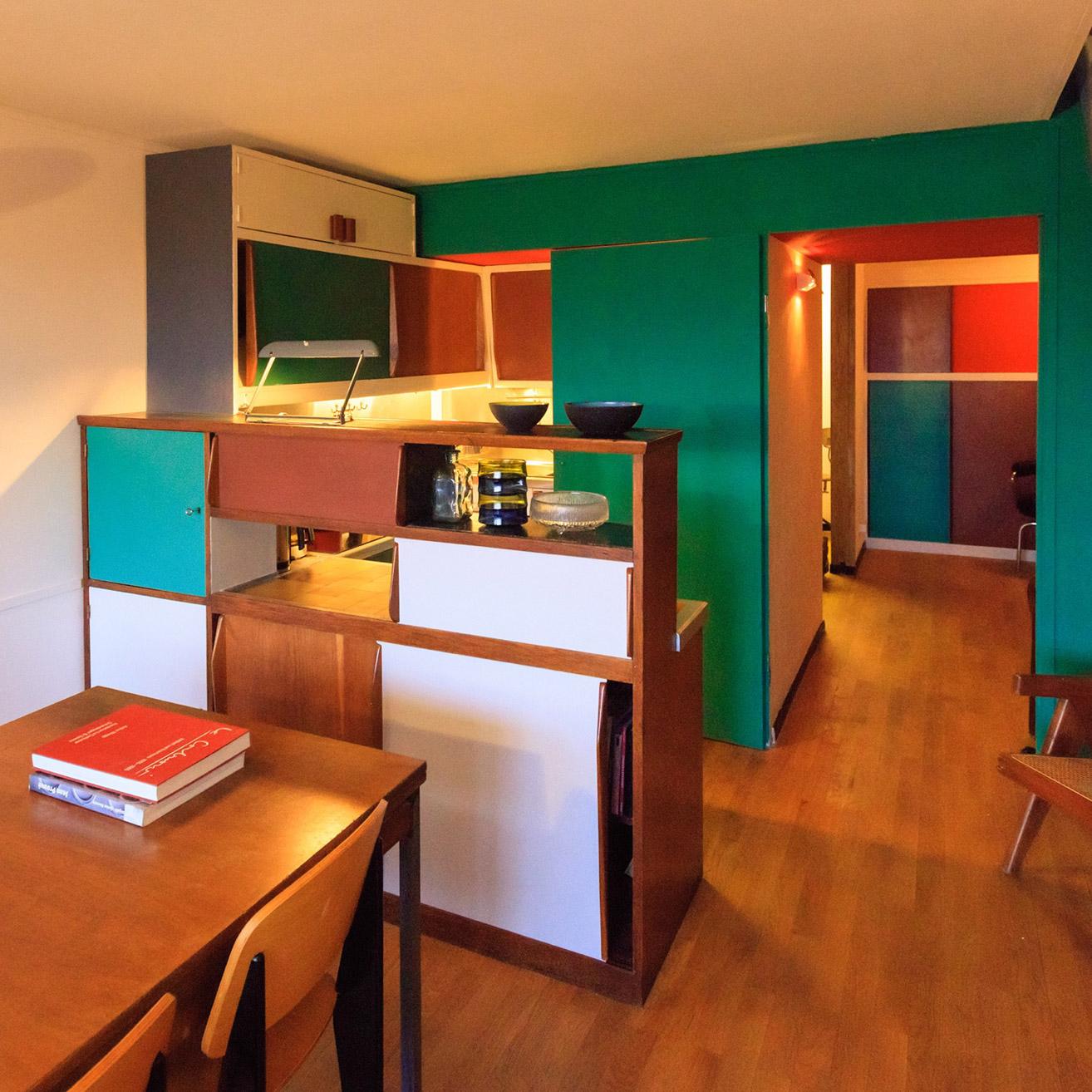 Architecte Interieur Paris 18 le corbusier's interior realisedphilipp mohr at unité d