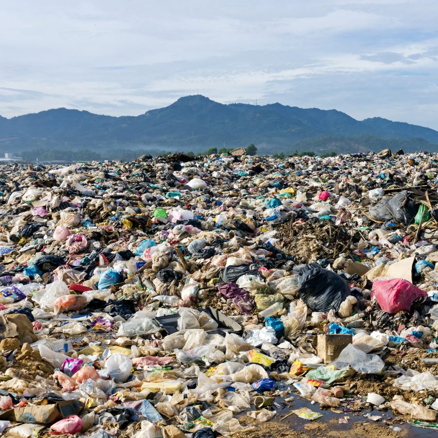 "Conventional plastic in soil or the ocean is ""largely an aesthetic problem"" says Huang. Image is by Shutterstock"