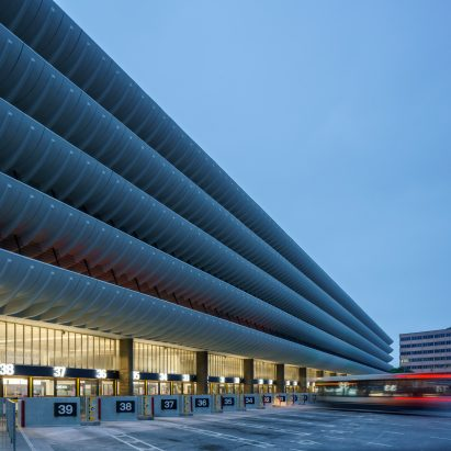 Preston Bus Station by John Puttick Associates
