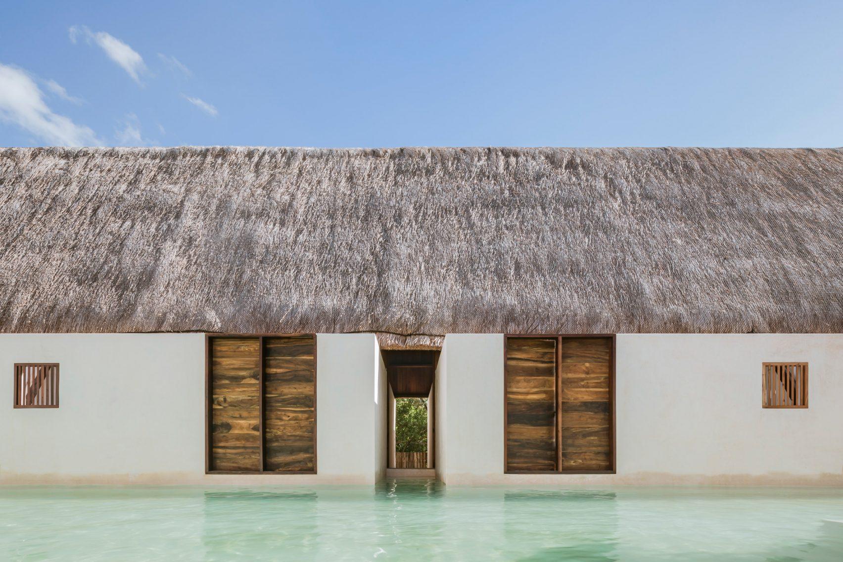 Бутик-отель, стилизованный под индейцев Майа