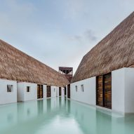 Estudio Macías Peredo stylises Mayan architecture for Punta Caliza boutique hotel