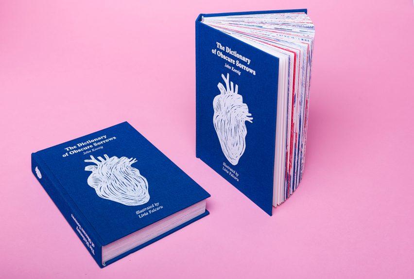 Dictionary of Obscure Sorrows design by Livia Falcaru