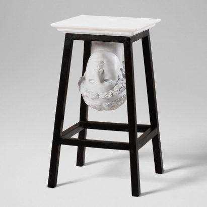 "Sebastian Errazuriz ""steals"" classical artworks to create furniture"