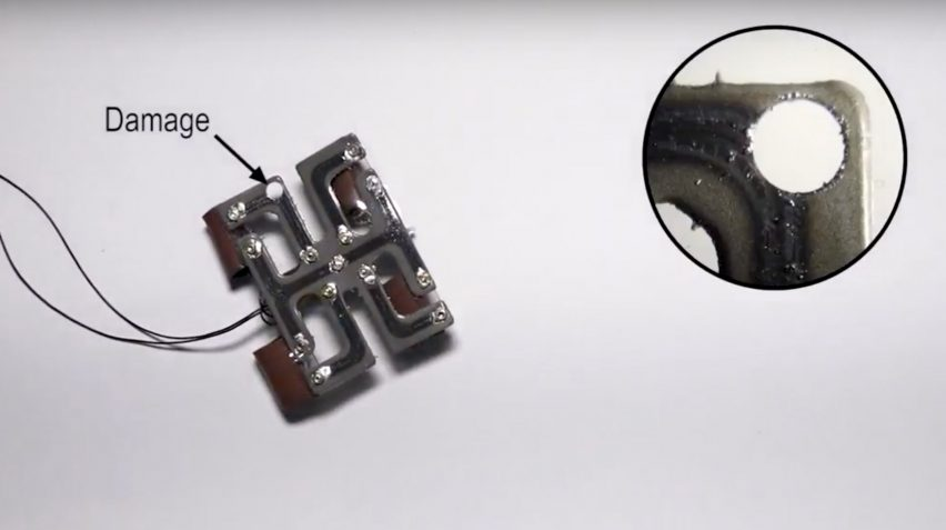 Self-healing material could be a breakthrough for humanoid robots