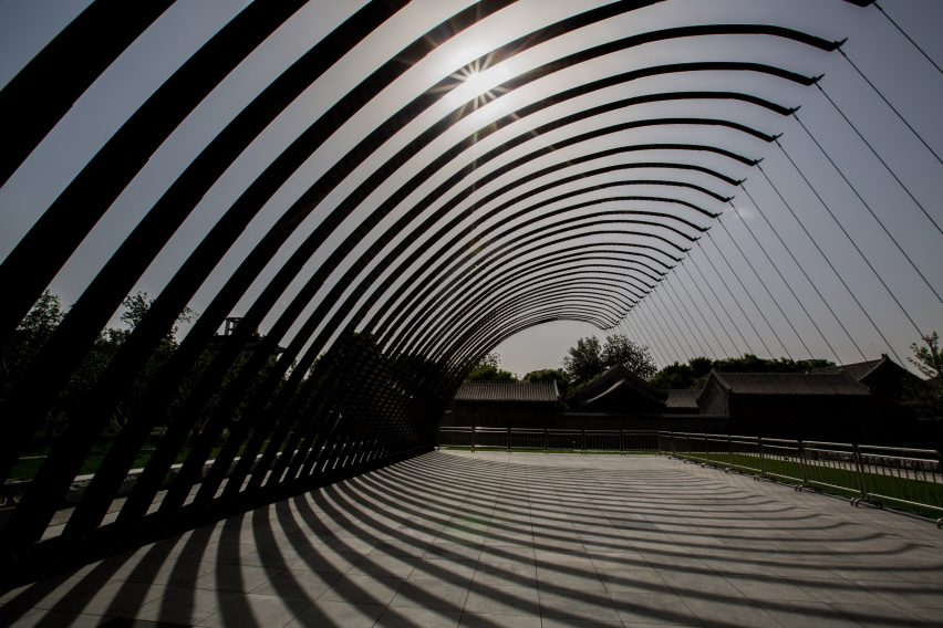 Jiakun Architects completes first foreign Serpentine Pavilion in Beijing