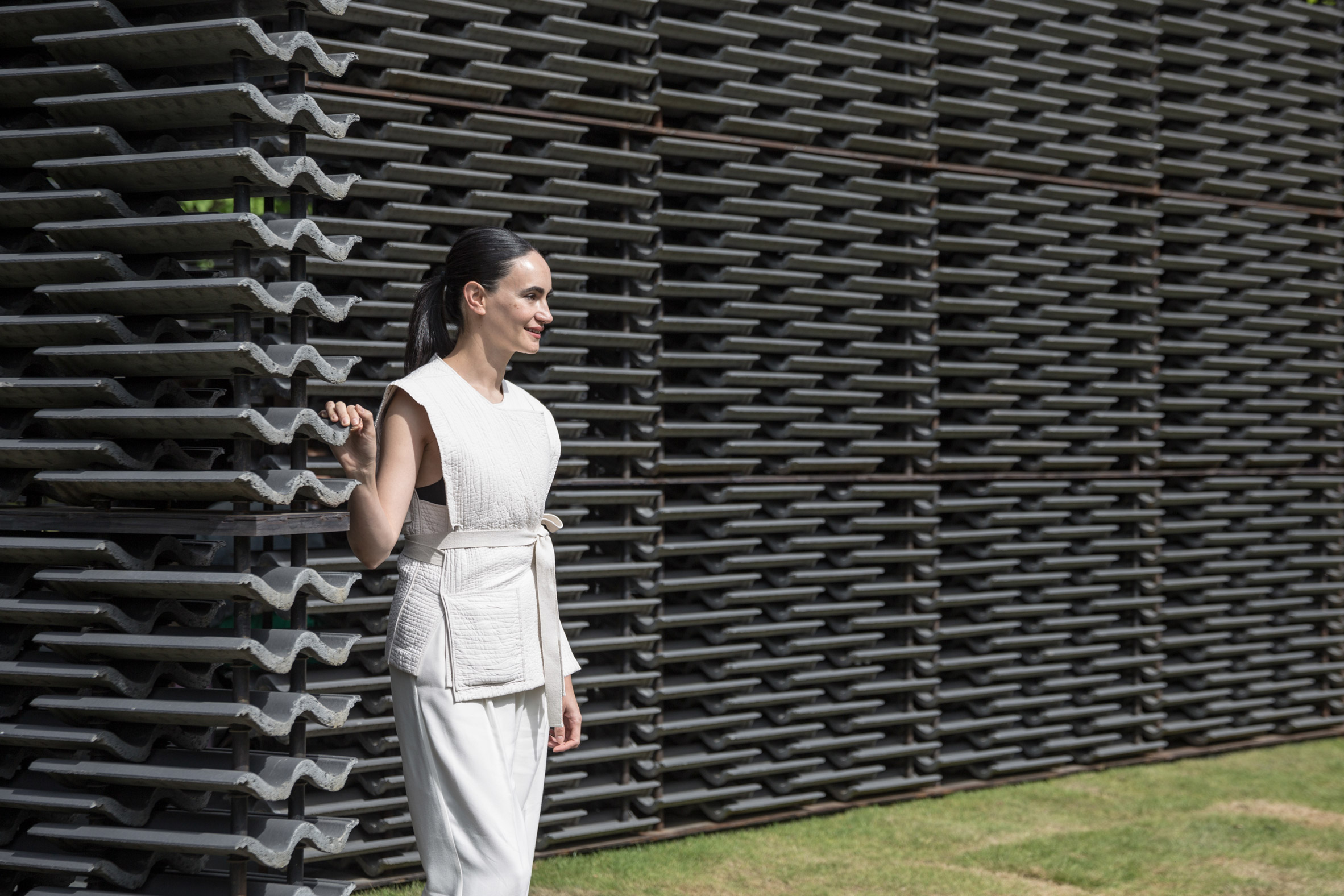 """Serpentine Pavilion 2018 shows """"what you can create with simple things"""" says Frida Escobedo"""
