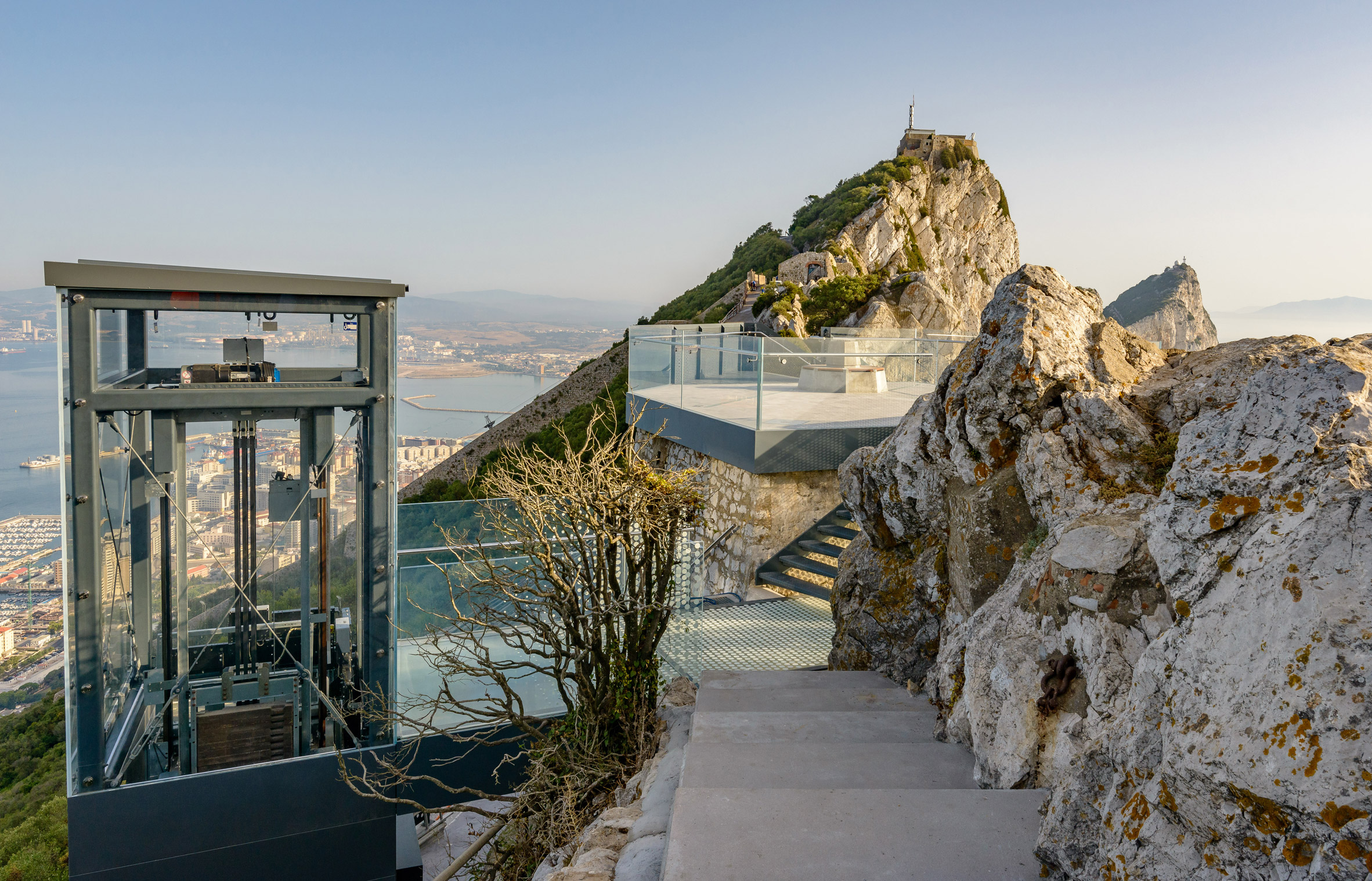 Rock of Gibraltar Skywalk by Arc Designs