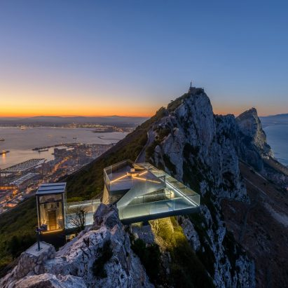 Rock of Gibraltar Skywalk by Arc Designs