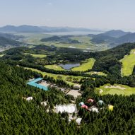 "South Korean glamping resort offers holidaymakers a touch of ""minimalist luxury"""