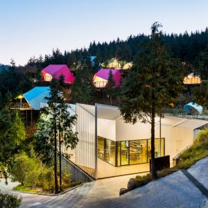 South Korean glamping resort offers holidaymakers a touch of