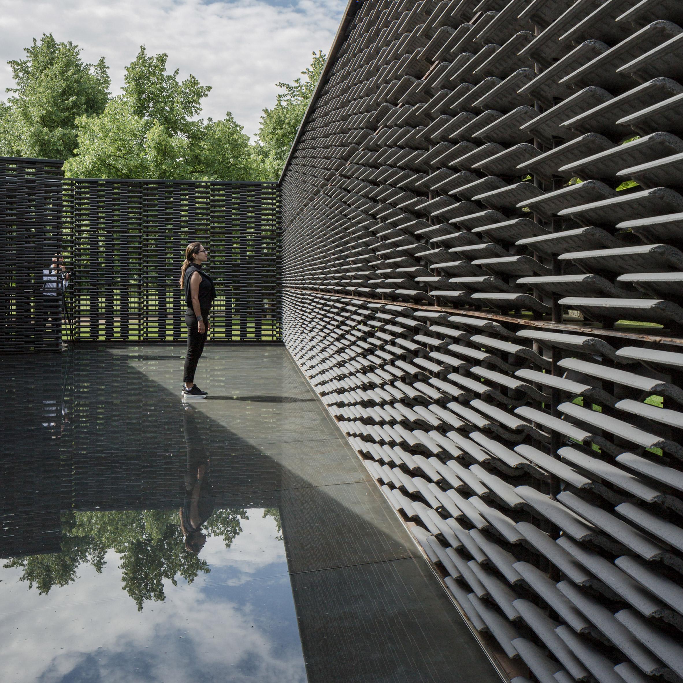 Serpentine Pavilion 2018 by Frida Escobedo