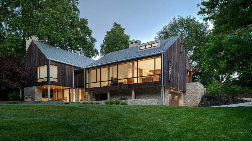 Sullivan House by Jonathan Barnes Architectural Design
