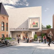 "Tod Williams Billie Tsien's Hood Museum overhaul will ""knit together"" its postmodern predecessor"