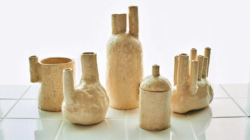 Sinae Kim creates decorative vessels using human urine