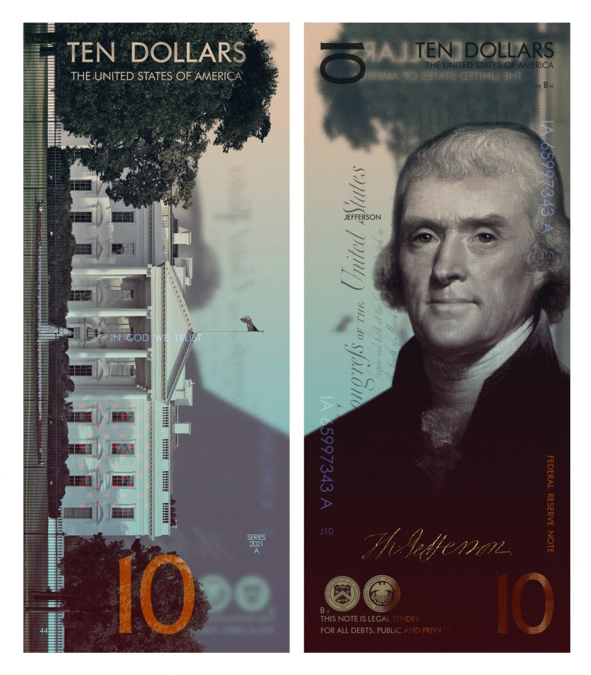 US dollars by Andrey Avgust