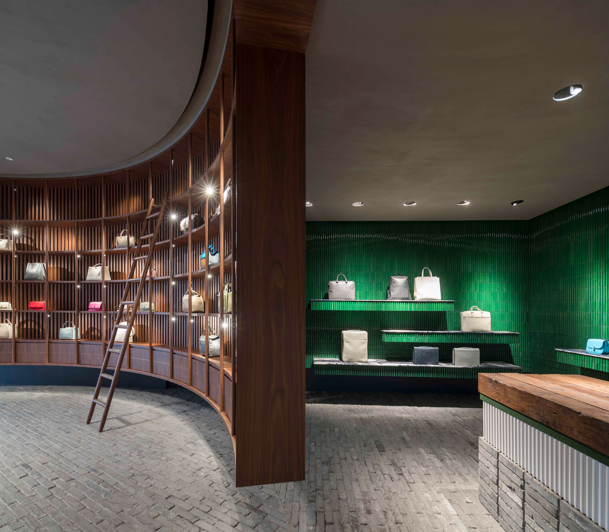 Valextra showroom by Neri&Hu