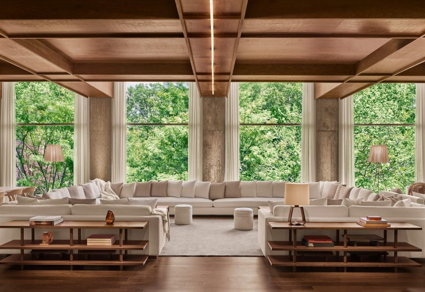 Ian Schrager's Public Hotel in New York won in the Lobby & Public Spaces category at the AHEAD Americas awards 2018