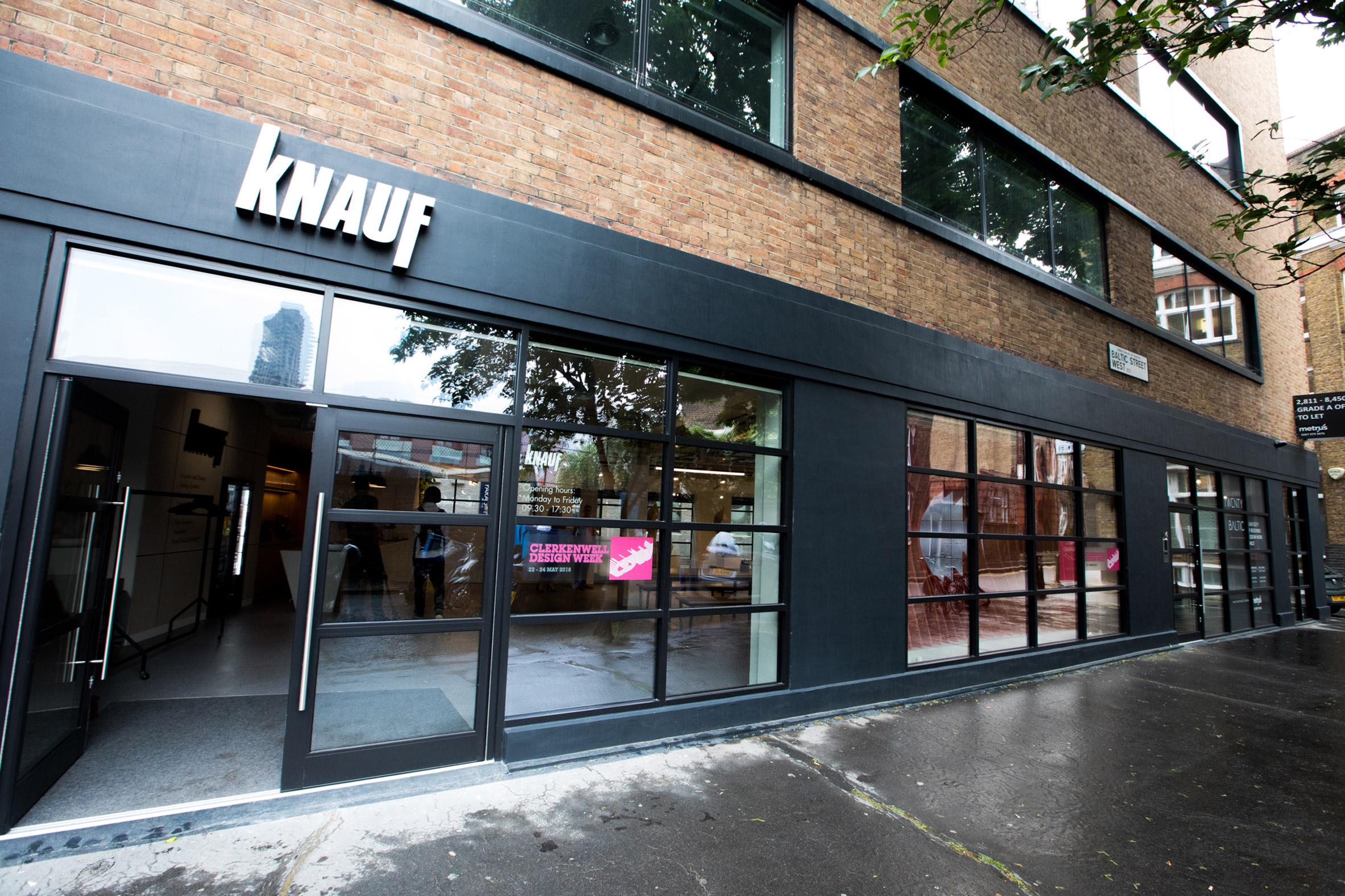 Mailen Design's new showroom for Knauf in Clerkenwelll