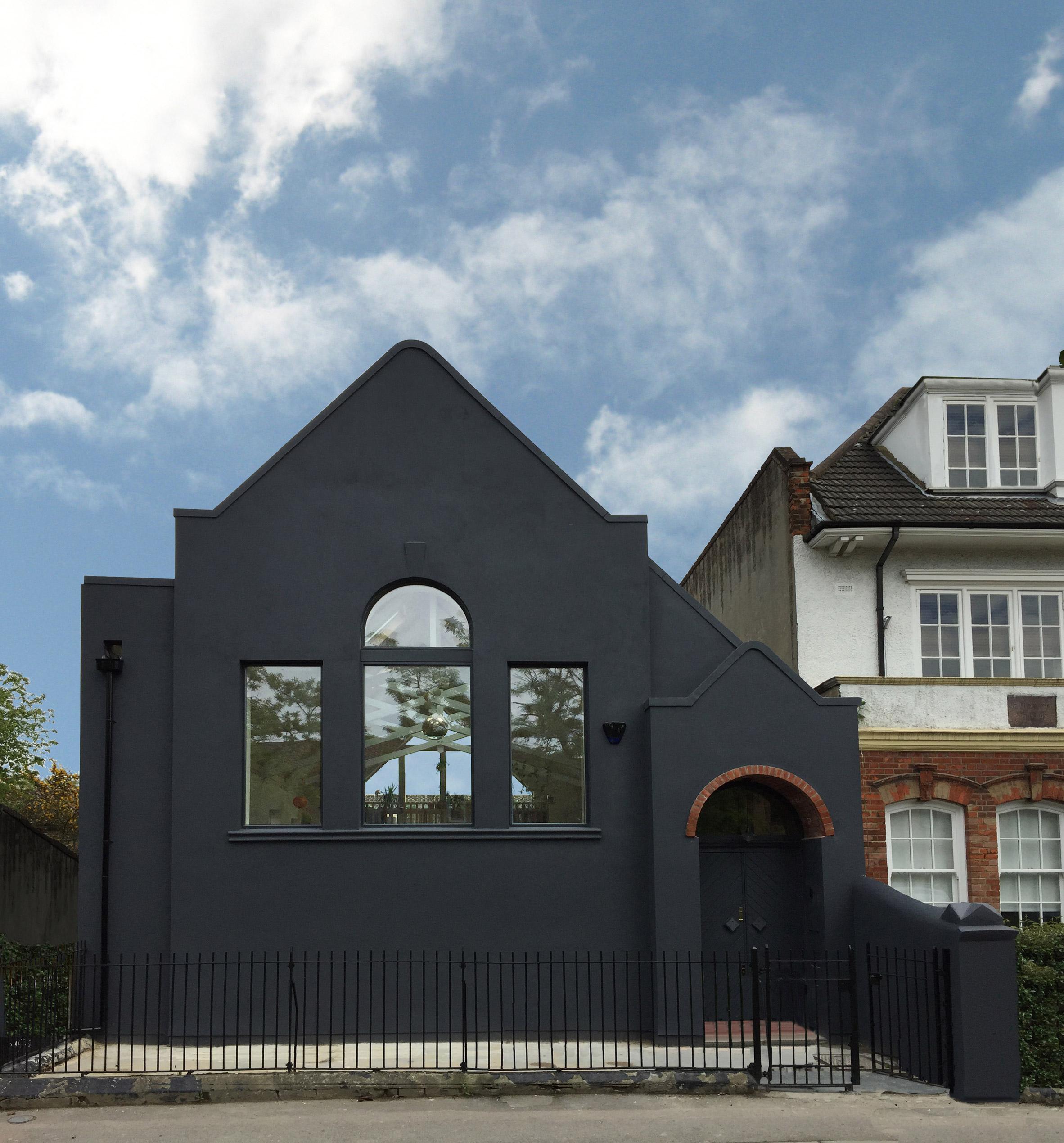 Alex Nikjoo transforms disused chapel into artist's house and studio