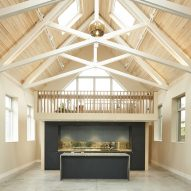 Alex Nikjoo transforms disused chapel into artist's house and studio