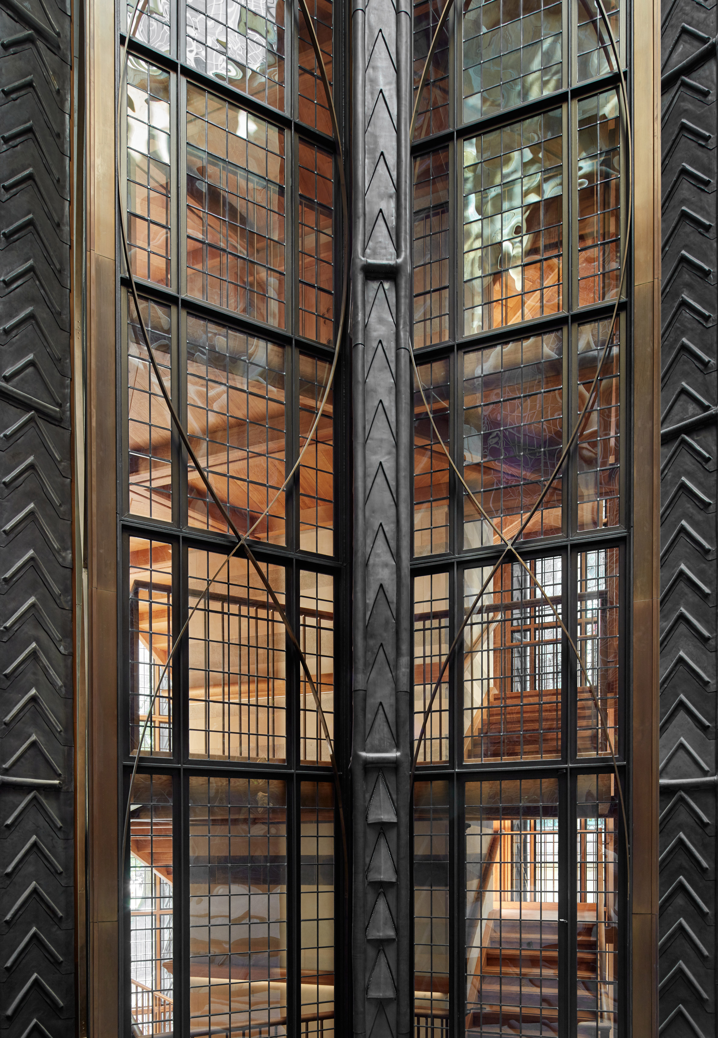 Westminster Abbey renovation by Ptolemy Dean Architects