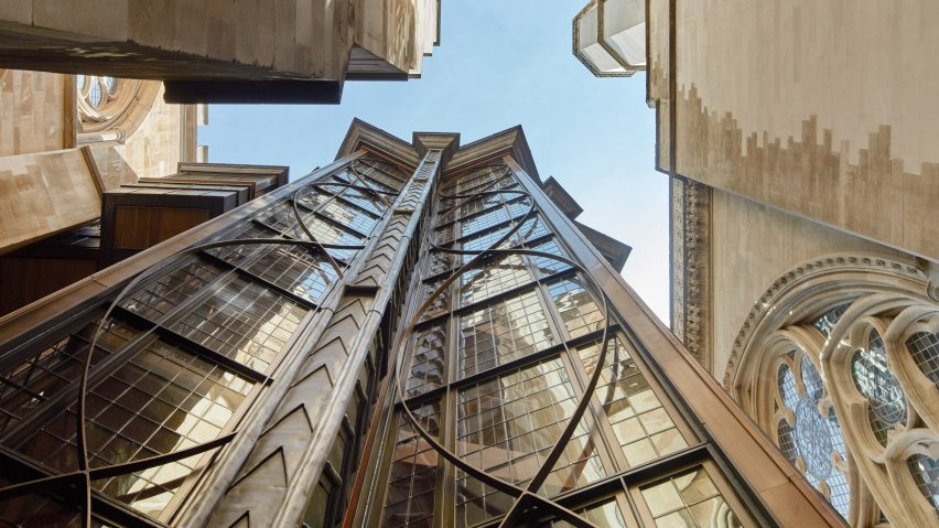 RIBA National Awards 2019: Westminster Abbey Triforium Project, London, England, by Ptolemy Dean Architect