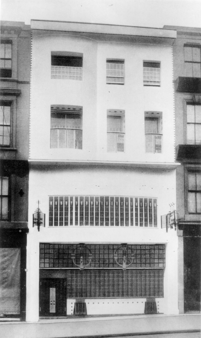 Willow Tea Rooms by Charles Rennie Mackintosh