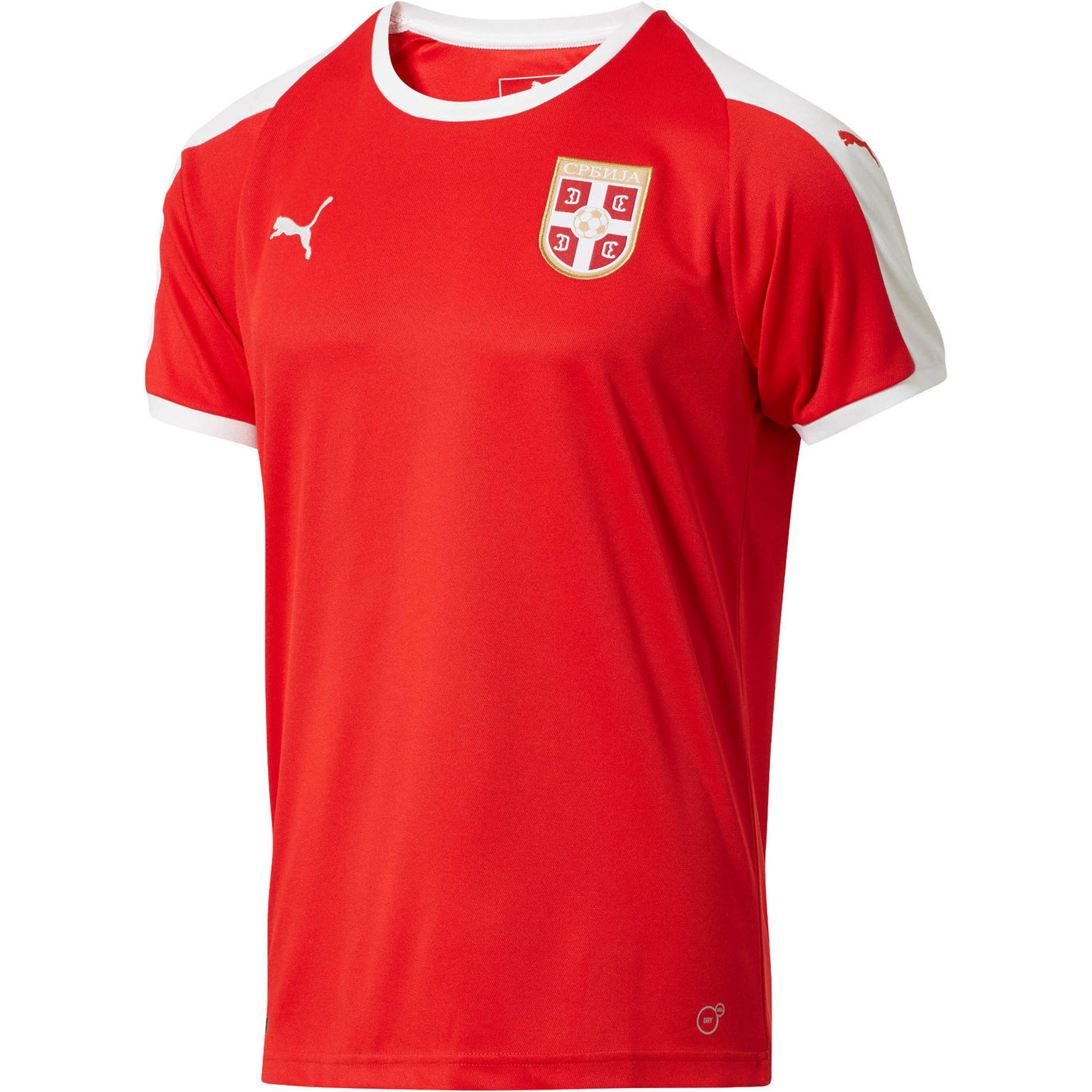 6d3a3d691d9 Costa Rica s traditionally red and white kit was released under the slogan