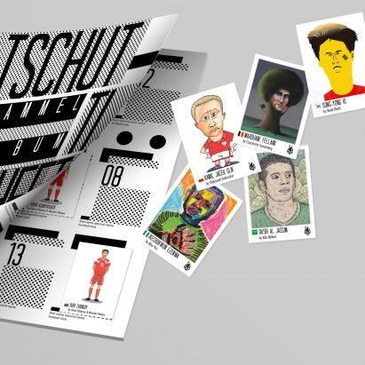 32 artistas crean un álbum de pegatinas alternativo para la Copa Mundial 2018