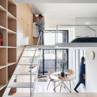 Phoebe Sayswow Architects creates 33-square-metre guest house in Taipei
