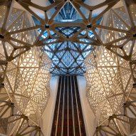 Morpheus hotel by Zaha Hadid Architects, photo by Virgile Simon Bertrand