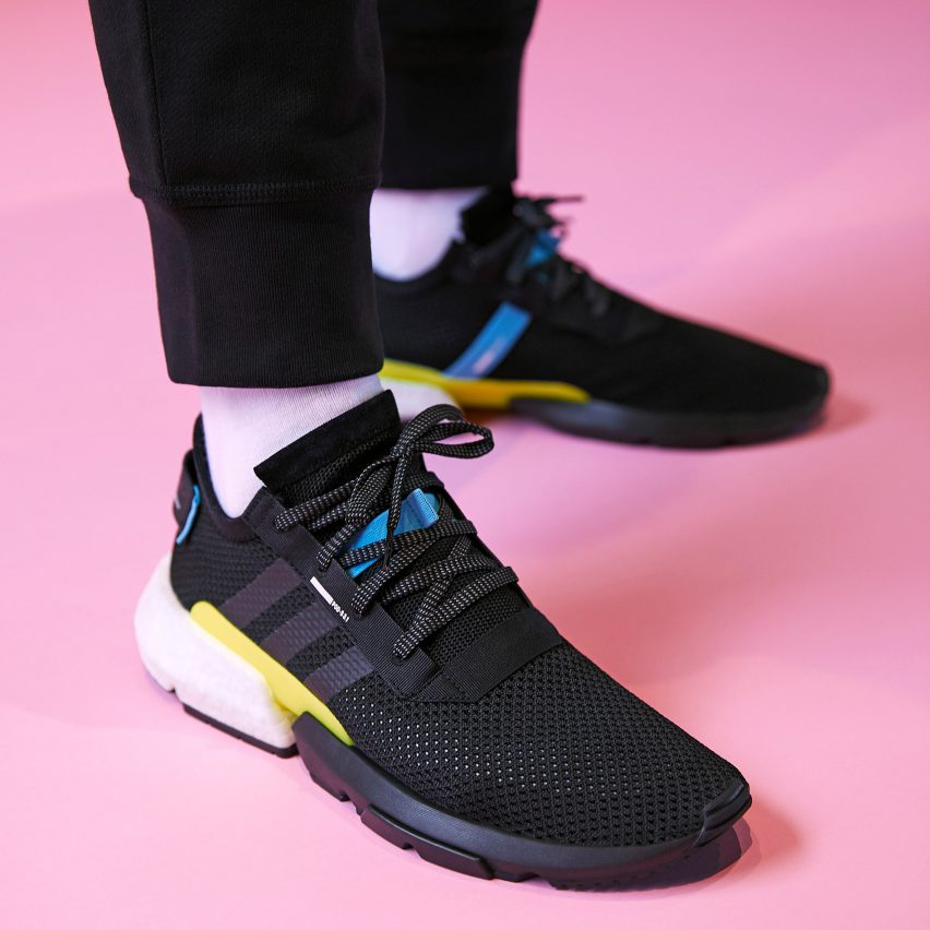 d30c54fc075c One version of the P.O.D.System shoes comes with an all-black body